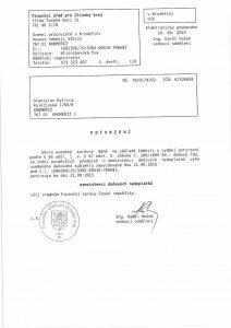 Protokol o bezdlužnosti Finanční správě k 21.09.15